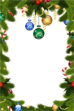 By Artist Unknown. Christmas Boarders, Christmas Swags, Christmas Frames, Noel Christmas, Christmas Background, Christmas Paper, Christmas Wallpaper, Christmas Pictures, Vintage Christmas
