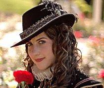 8ba1ce763e2 Elizabethan Tall Hat from Tall Toad. Beautiful quality hats from this  company.