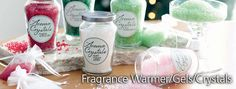 Aroma Crystals Find it at http://www.celebratinghome.com/sites/msanabria/PWPshowCategoryProduct.ashx?ProgramCategoryId=159 #candles, #fragrance, #home decor