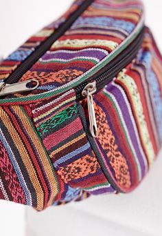 aztec tapestry style bum bag
