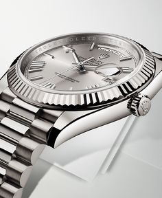 The Rolex Day-Date 40.  #RolexOfficial