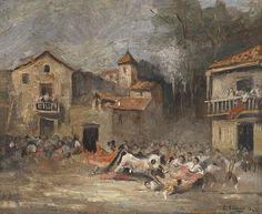 Eugenio Lucas Velázquez (Madrid, 9 de febrero de 1817 - Madrid, 1870) fue un pintor romántico español, llamado en el pasado Eugenio Lucas y Padilla, cuando se le creía natural de Alcalá de Henares.