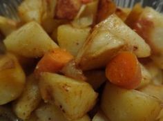 Portuguese Style Roast Potatoes Recipe