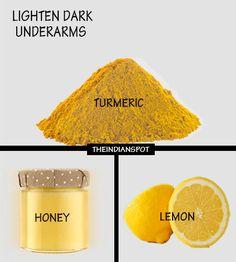 Top home remedies to lighten dark underarms (Diy Beauty Remedies)