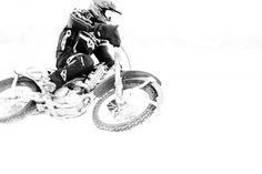 Motorcycle Dirtbike Ice Riding Racing