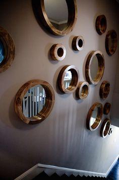 Ev dekorasyon fikirleri ve ev dekorasyon örnekleri - Dekoratif ayna modelleri
