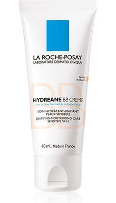 Hydreane BB Cream de La Roche Posay. Aporta un toque iluminado y fresco a tu rostro con la gama de productos hidratantes Hydreane.