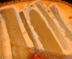 Rezept Rhabarberkuchen mit Schmand von franziskatraudtner - Rezept der Kategorie Backen süß