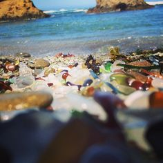Glass Beach Benicia, USA Photo by travayl Glass Beach, Beaches, Usa, World, Water, Painting, Outdoor, Gripe Water, Outdoors