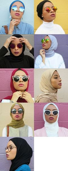 Des foulards de toutes les couleurs !