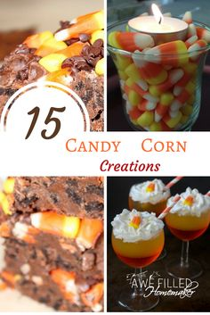 With fall quickly approaching it makes me think of those yummy yellow & orange treats! Fall is a favorite time of year for me and I just love seeing candy Corn! via @AFHomemaker