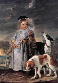 Charles Fonseca: Erasmus Quellin II - Retrato de um menino novo. A4...