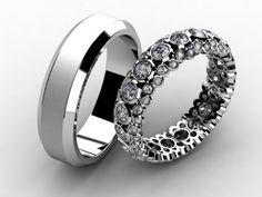 Snubní prsteny 030