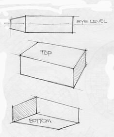 Drawing in 2 point perspective step by step
