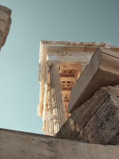 temple of athena, greece Places To Travel, Places To See, Travel Destinations, To Infinity And Beyond, Travel Aesthetic, Art And Architecture, Greece Architecture, Wonders Of The World, Travel Inspiration