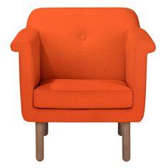 Accent Chair Orange by Orla Kiely