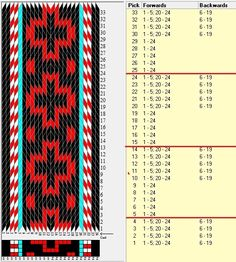 24 tarjetas, 4 colores, repite cada 10 movimientos // sed_1043 diseñado en GTT༺❁