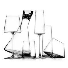 'Manhattan' glass collection by Ichendorf Milano