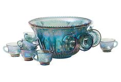 I want this so bad!!!  Vintage Punch Bowl Set, 21 Pcs. on OneKingsLane.com