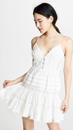 9cfec50cc5fbee Zimmermann Iris Lace Trim Short Dress China Fashion, Lace Trim Shorts,  Short Dresses,