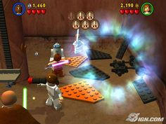 Lego Star Wars 1 on Playstation 2 - Completed (mind-blowingly awesome in its day).