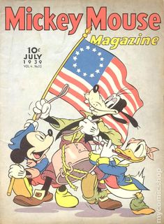 1939 Mickey Mouse Magazine Vol. 4 No. Donald Duck Comic, Mickey Mouse Donald Duck, Vintage Mickey Mouse, Mickey Minnie Mouse, Vintage Disney, Disney Mickey, Walt Disney, Disney Pin Up, Disney Fun