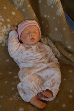 How to make a Reborn baby doll