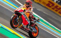 Download wallpapers 4k, Marc Marquez, sportbikes, MotoGP, Repsol Honda Team, rider, motorcycle racer