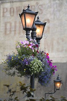 Ambient Street Lamps in Kilkenny City Ireland
