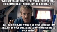 The most underrated Doctor Who quote ever.