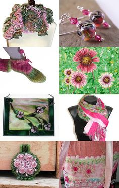 Watermelon Time - Etsy Treasury by Shelly--Pinned with TreasuryPin.com