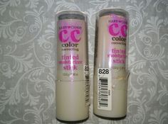 Hard Candy CC Color correcting tinted moisturizer Stick #828 Fair - LOT OF TWO #HardCandy