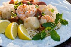 Seafood Recipes : Grilled Seafood Packets recipe