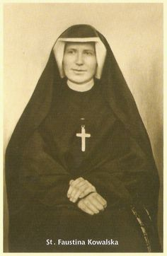 st maria faustina kowalska | St. Faustina