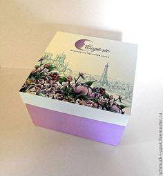 Коробки на заказ малым тиражом! Упаковка с цветной печатью для аксессуаров  :)