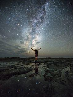 Kaikoura, New Zealand Milky Way Tom Jessett Working Holiday Visa, Working Holidays, Long White Cloud, Milky Way, New Zealand, Most Beautiful, Around The Worlds, Earth, Explore