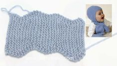 In this DROPS video we show how to knit the baby hat in DROPS Baby The hat is knitted in DROPS Alpaca, but we use a thicker yarn in the video, DROPS.Hoe breit u de muts (zijwaarts) in DROPS Baby (Tutorial Video)Baby Knitting Patterns Mittens Our vide Baby Hats Knitting, Baby Knitting Patterns, Baby Patterns, Free Knitting, Baby Blanket Crochet, Crochet Baby, Baby Helmet, Head Clothing, Drops Baby