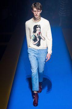 Gucci Spring 2018 Menswear Collection Photos - Vogue