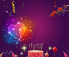 Happy Birthday Poster Background In 2019 N Happy