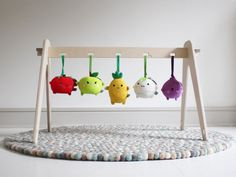 Danish style with 1st Play wooden baby gym #BabyToys, #Scandinavian, #WoodenToys