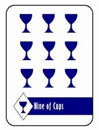 Tarot Card Interpretation & Meaning - 9 Of Cups Good Attitude, Positive Attitude, Nine Of Cups, Money Isn't Everything, Tarot Card Meanings, Current Job, Cartomancy, Change Is Good, Good Energy
