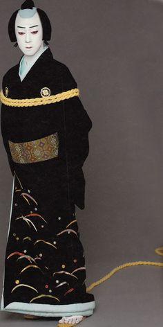 This picture may be rare.  @Kip Dunlap Tamasburo, male Kabuki legend photographed by Kishin Shinoyama. S)