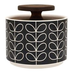 Buy Orla Kiely Linear Stem Sugar Storage Jar from our Sugar Bowls & Cream Jugs range at John Lewis & Partners. Orla Kiely, Coffee Accessories, Kitchen Accessories, Tech Accessories, Wine Racks, Modern Serveware, Sugar Storage, Table Design, Jar Design