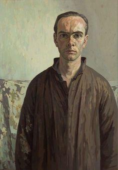 Edgar Fernhout (NL 1912-1974) Self portrait (1954) Oil on canvas (100,5 cm x 70 cm) Fernhout is the son of painter Charley Toorop, and the grandson of painter Jan Toorop.