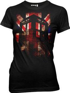 Dr Who Tardis Union Jack Glow Juniors T-shirt (Large) Ripple Junction,http://www.amazon.com/dp/B00B01HLL4/ref=cm_sw_r_pi_dp_V0h3rb197G094CCN