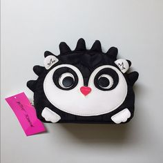 "CUTE HEDGEHOG (ANIMAL) COSMETIC BAG This is a brand new Betsey Johnson hedgehog makeup (travel) bag. Depth: 3"" and Length: 8"". Bring this adorable bag home or in a fun trip 💕 Betsey Johnson Bags"