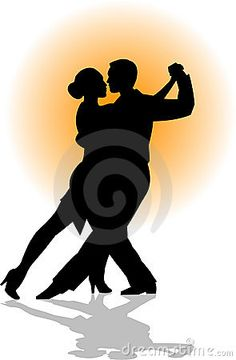 Tango Dance Couple Eps Royalty Free Stock Photography - Image: 732317