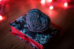 A personal favorite from my Etsy shop https://www.etsy.com/listing/491343022/black-heart-wroses-glitter-bath-bomb