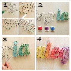 String art DIY instructions