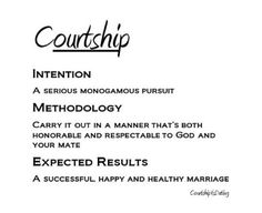 Christian advice on dating and courtship gods